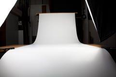 Fotograficzny set (z przestrzenią dla twój przedmiota) Fotografia Stock