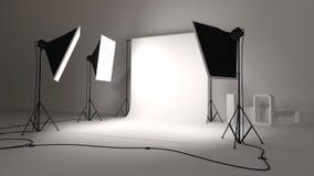Fotograficzny studio royalty ilustracja