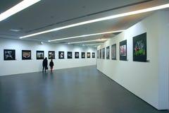 Fotografie-Ausstellung Stockbild