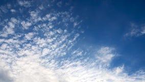 Fotografie Daghemel met Pluizige Wolken Videolijn stock video