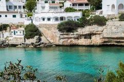 Fotografie einer wunderbaren Landschaft von Menorca stockbild