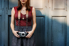 Fotografie-Fotograf Fotograf Camera Concept Stockbild