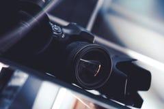 Fotografie-Gang im Verkauf Stockbilder