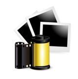 Fotografie i ekranowy rola odizolowywający Fotografia Stock
