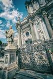 Fotografie indywidualne części katedra święty Agatha Obraz Stock