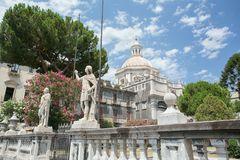 Fotografie indywidualne części katedra święty Agatha Zdjęcie Stock