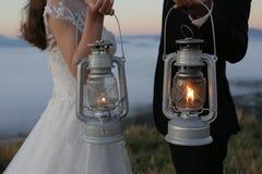 Fotografie kreativ von den Liebespaaren in Hochzeitsteil 3 stockfoto