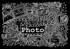 Fotografie kritzelt Elemente vektor abbildung