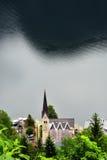 Fotografie Luterański kościół w Hallstatts Obraz Stock