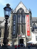 The fotografie musuem in Amsterdam. The majestic architecture and famous musuem in the world royalty free stock image