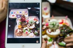 Fotografie van donuts Royalty-vrije Stock Foto
