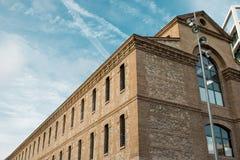 Fotografie van een historisch gebouw royalty-vrije stock foto's