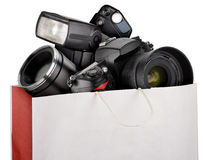 Fotografieausrüstung Lizenzfreie Stockfotos