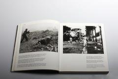 Fotografieboek door Nick Yapp, Franse infanterie in Indochina-Oorlog royalty-vrije stock fotografie