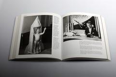 Fotografieboek door Nick Yapp, Gillingham, Kent 1958, jaren vooruit Tereshkova Royalty-vrije Stock Fotografie