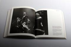 Fotografieboek door Nick Yapp, Louis Armstrong All Stars in Groot-Brittannië Stock Foto's