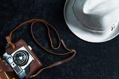 Fotografiereise-Gegenstandsatz stockbild