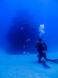 Fotografieren eines Schiffbruchs Lizenzfreies Stockbild