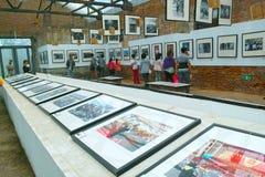Fotografifestival arkivfoton