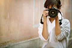 fotografigata Royaltyfri Bild