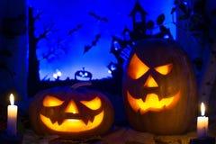 Fotografii banie dla Halloween całodniowi święty Zdjęcia Stock