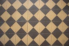 Fotografii ścienna mozaika - szachy wzór Obrazy Stock