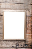 Fotografii drewniana rama Fotografia Stock