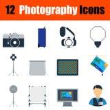 Fotografii ikony set Zdjęcie Royalty Free