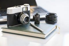 Fotografii kamera Fotografia Stock