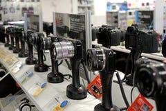 Fotografii kamery sklep Obraz Stock
