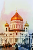 Fotografii katedra Chrystus wybawiciel Obrazy Royalty Free