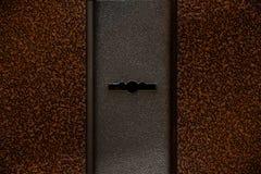 Fotografii keyhole lokalizował drzwi zdjęcie stock