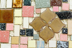 Fotografii mozaiki kwiat Obrazy Stock