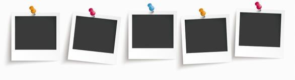 5 fotografii Natychmiastowy chodnikowiec Zdjęcie Stock