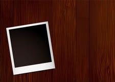 fotografii natychmiastowy drewno Obraz Stock