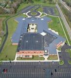 fotografii powietrzna podstawowa szkoła Zdjęcia Stock