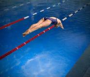 fotografii pracowniani pływaczki wody kobiety potomstwa obraz stock