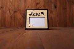 Fotografii rama z słowem Fotografia Stock