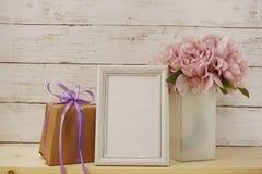 Fotografii ramowa i domowa dekoracja Fotografia Stock