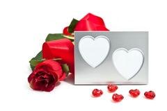 fotografii ramowy valentine s Obraz Royalty Free