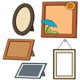 Fotografii ramy ilustracji