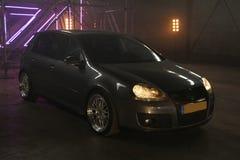 Fotografii ` s Volkswagen Golf 5 i Volkswagen Golf 6 GTI Obrazy Stock