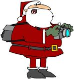 fotografii Santa zabranie Zdjęcia Stock