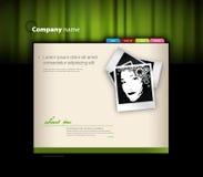 fotografii szablonu strona internetowa Zdjęcia Royalty Free