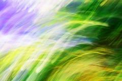 Fotografii sztuka, Kolorowy lekkich smug abstrakta tło Zdjęcie Stock
