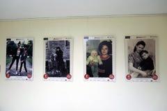 Fotografii wystawy matki ewolucja w Moskwa Fotografia Stock