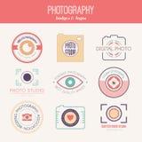 Fotografilogoer Arkivbild