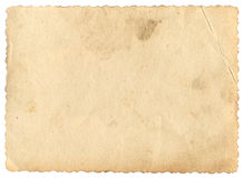 Fotografisch document stock foto