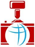 Fotografisch embleem stock illustratie