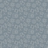 Fotografisch naadloos patroon Het kan voor prestaties van het ontwerpwerk noodzakelijk zijn royalty-vrije illustratie